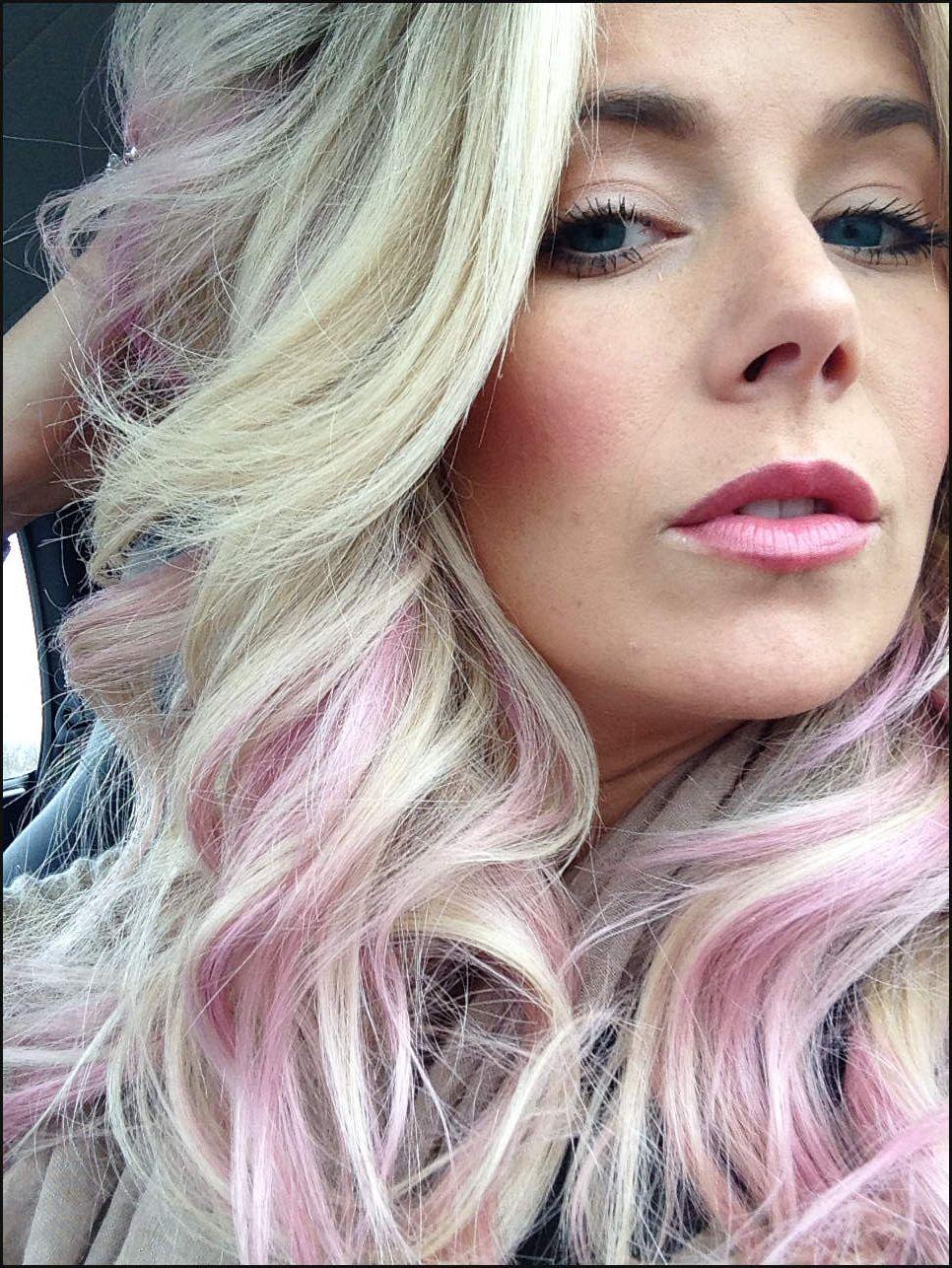 Frisuren Mit Pastell Rosa Haare Einfache Frisuren
