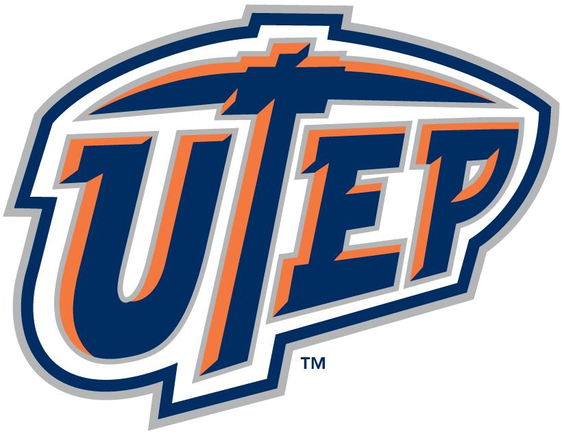 Utep Miners Alternate Logo College Logo Football Logo Texas Sports