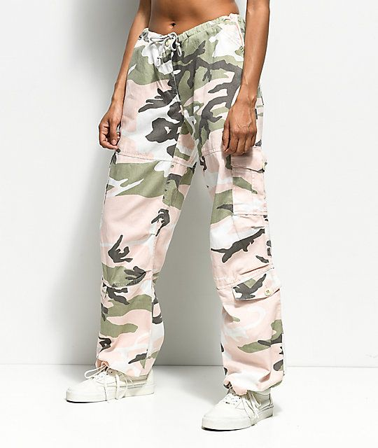 35c73d67427e3 Rothco Pink & Green Camo Vintage Fatigue Pants in 2019 | Fall | Camo ...