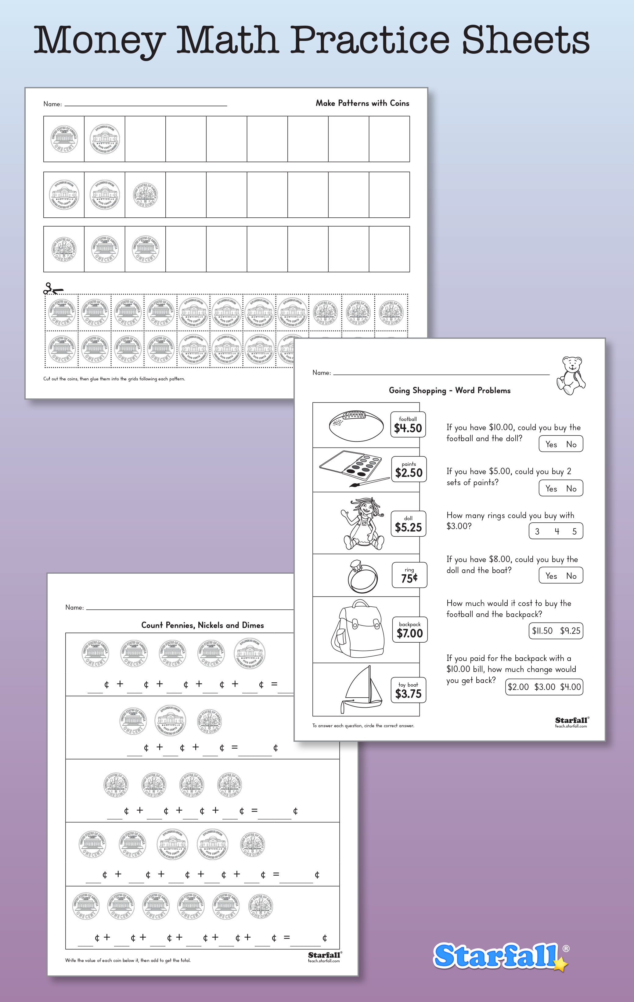 Practice Money Math With These New Worksheets And More