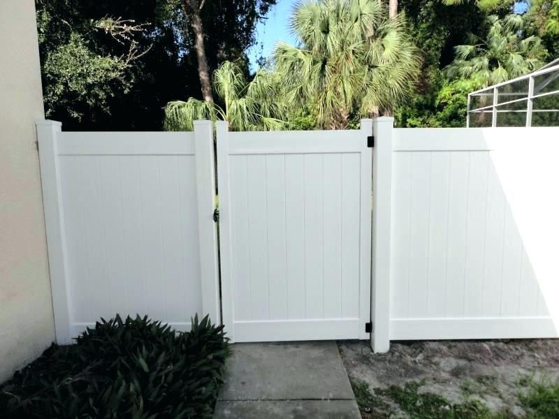 Ideas To Install Vinyl Fence Gate Kits Home Ideas Utility Collective In 2020 Fence Gate Design Vinyl Fence Vinyl Privacy Fence