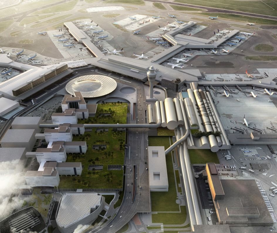 Kaan Architecten Selected To Design The New Amsterdam Airport