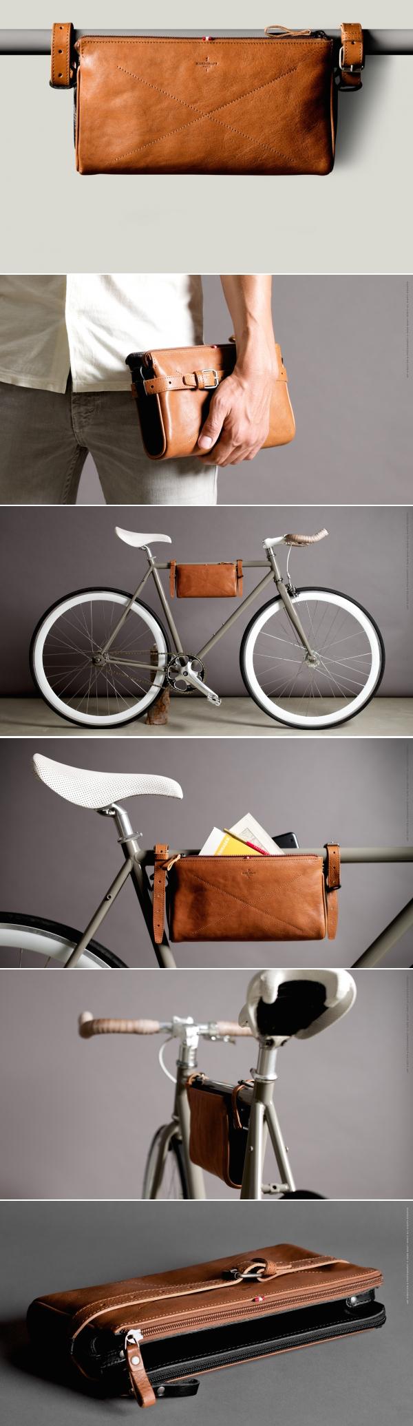 Fahrradrahmen Tasche | DIY | Pinterest | Fahrräder, Leder und ...