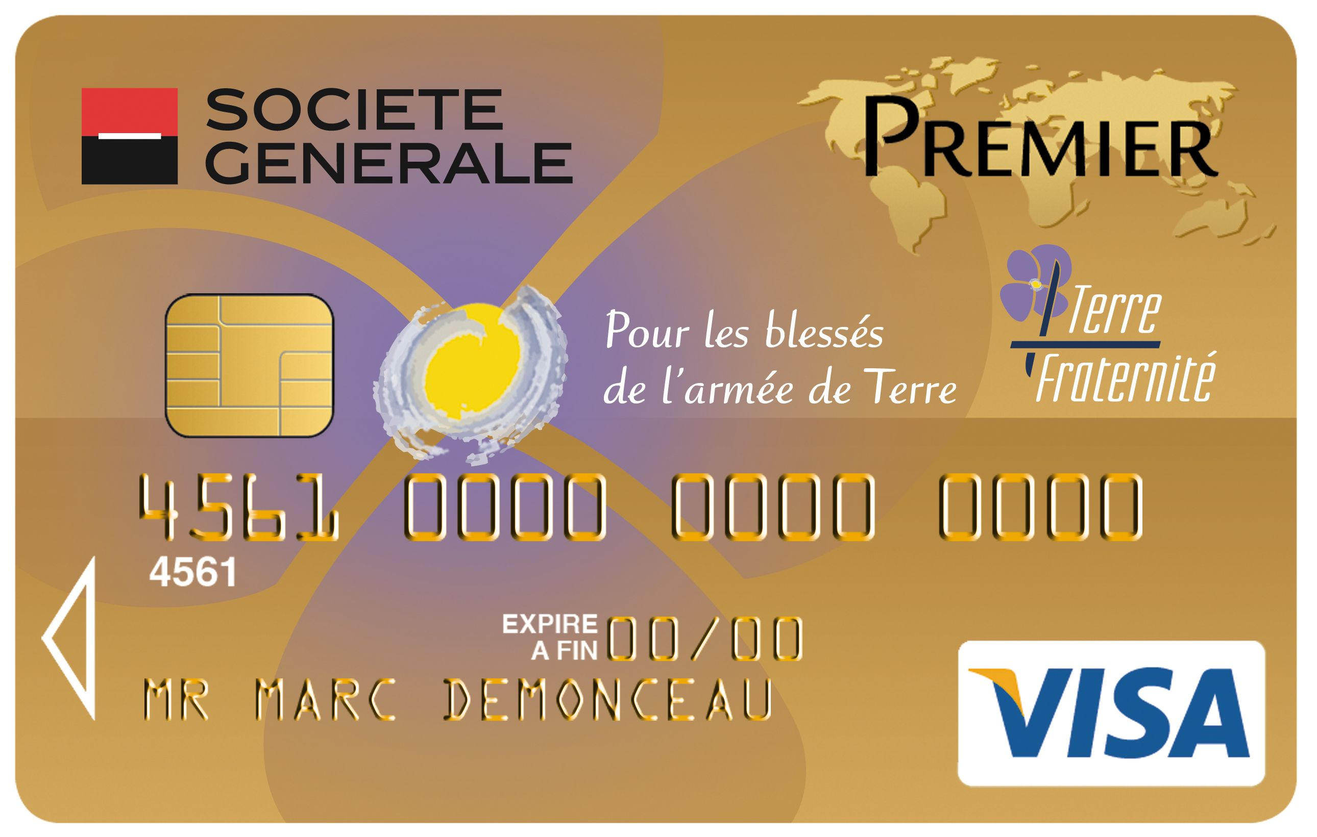 Carte Visa Premier Societe Generale Terre Fraternite