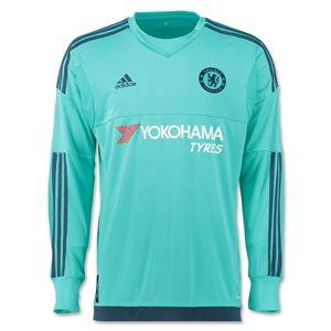 9e6c3f3187d Chelsea 15/16 LS Goalkeeper Jersey | Birthday | Goalkeeper shirts ...