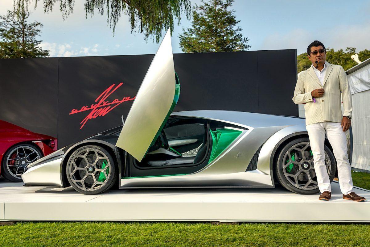 Enzo Ferrari Designer Reveals Striking Kode 0 Supercar In Monterey Super Cars Design Car