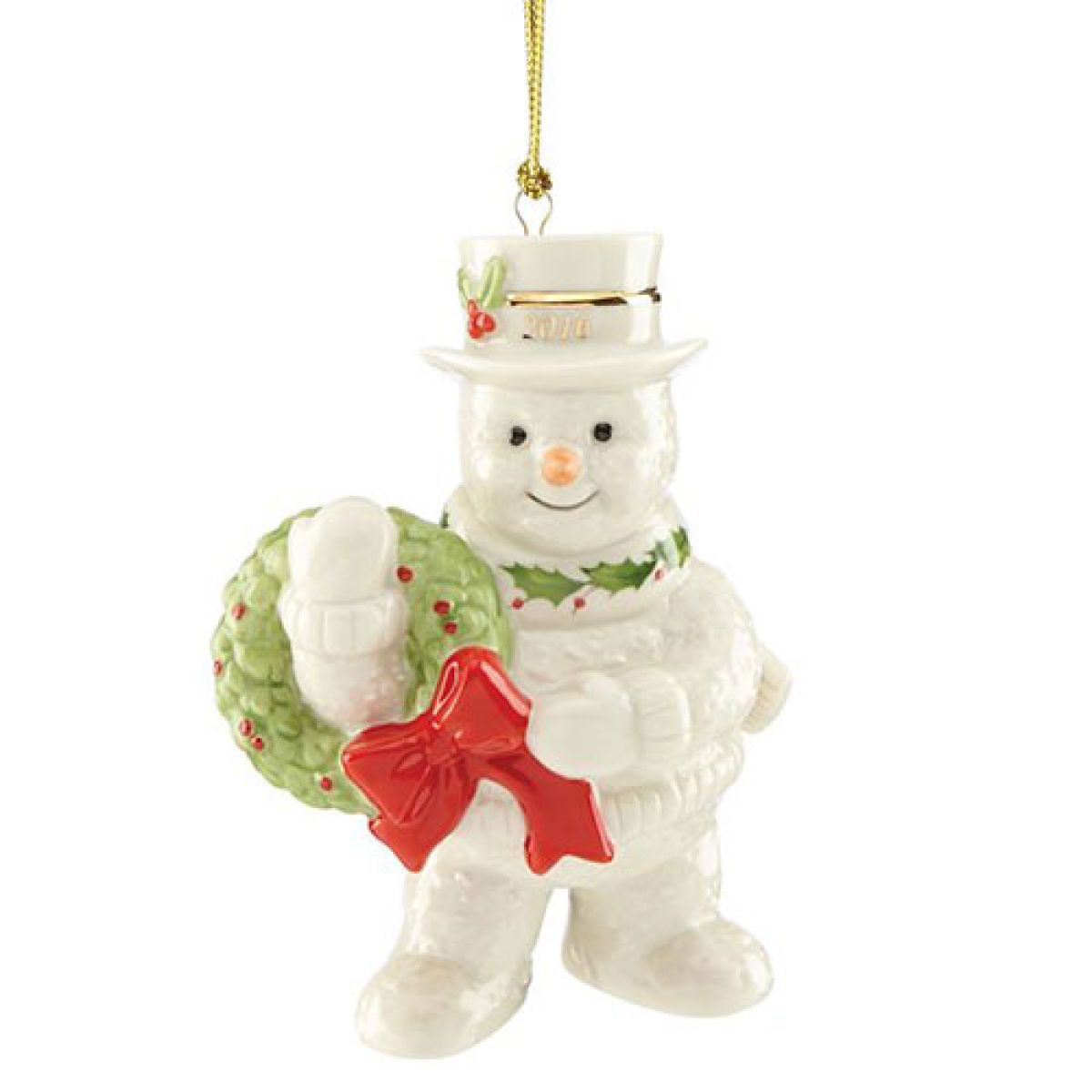 lenox 2016 happy holly days snowman ornament boscovs lenox christmas ornaments snowman ornaments - Boscovs Christmas Decorations