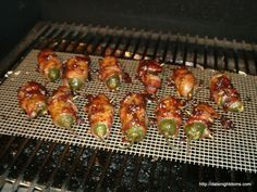 Smoked Jalapeno Poppers #grillingrecipes