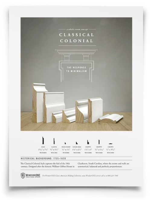 Classical Colonial Moldings 18th Century Style Moldings And Trim Colonial Vinyl Window Trim