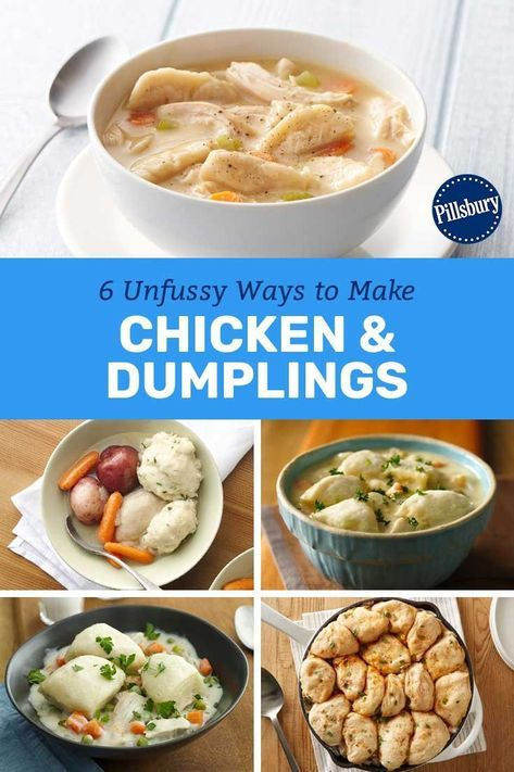 6 unfussy ways to make chicken and dumplings  chicken and