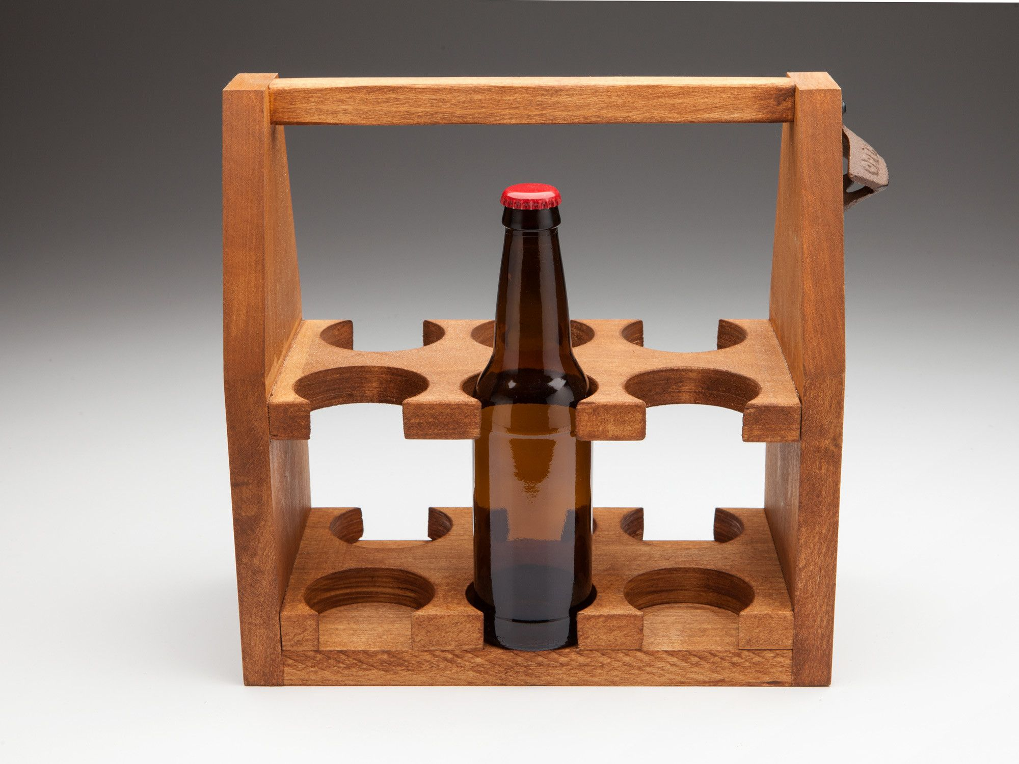 The Quotsix Shooterquot Poplar Wooden Beer Tote Woodworking In 2019 Pinterest Woodworking Beer