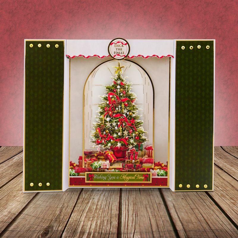 Hunkydory Crafts A Magical Christmas Time Deco-Large A Christmas Wish