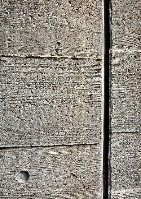 Getty Villa Isolation Joint Detail Concrete Design Board Formed Concrete Concrete