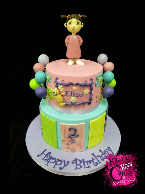 Boo monsters inc cake Cakes Pinterest Monsters Cake and