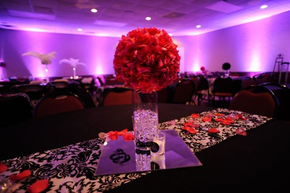 White Silver And Red Wedding Theme Gallery - Wedding Decoration Ideas