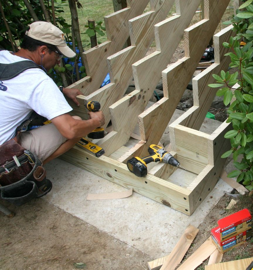 Attaching Bottom Deck Posts Deck Posts Building A Deck Diy Deck