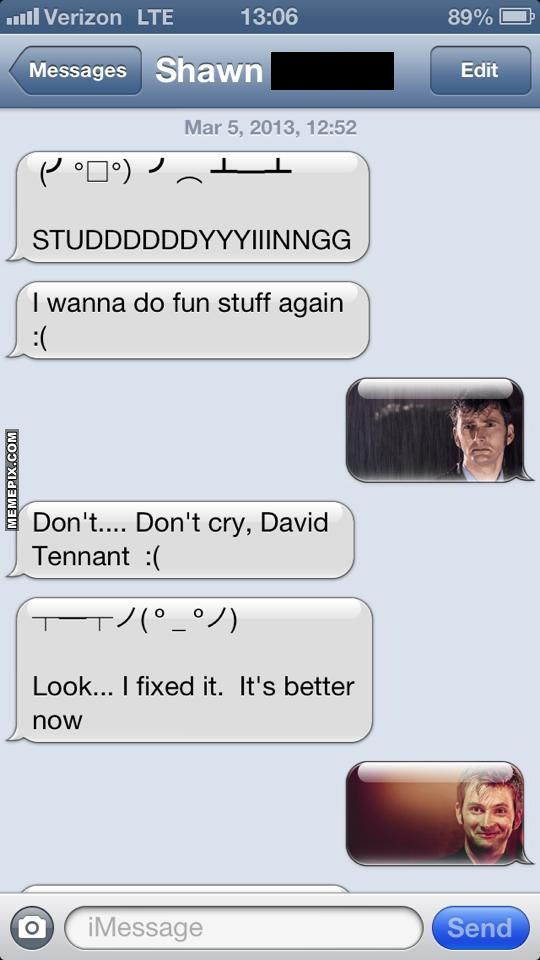 Overly Emotional Tennant