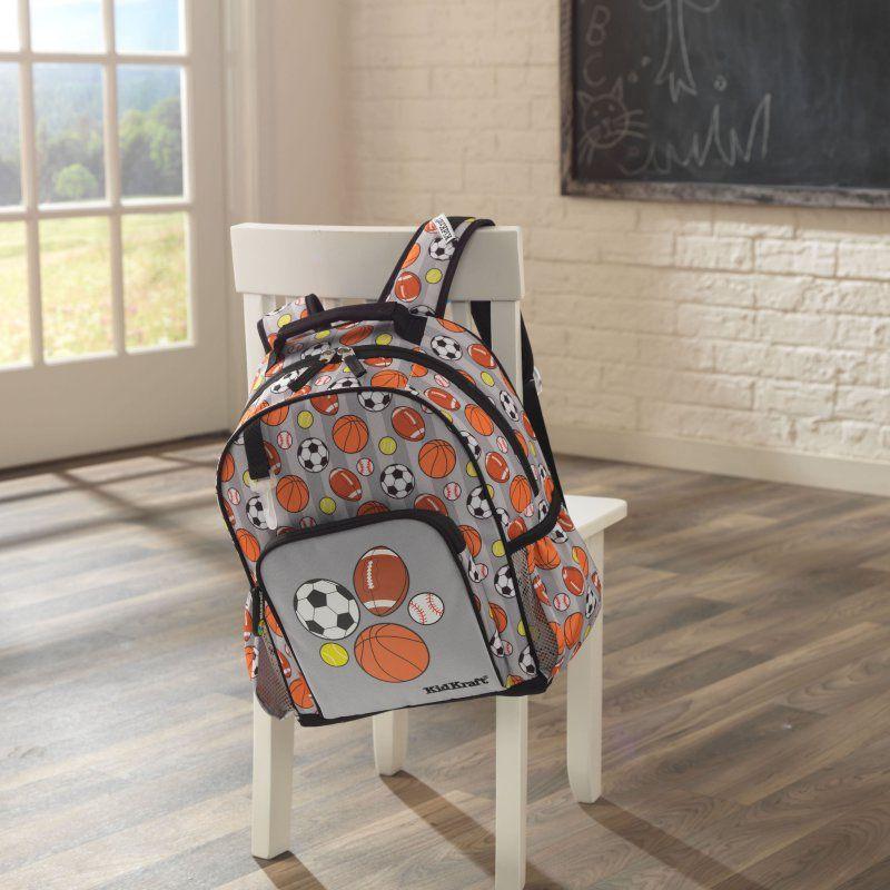 d524d5adc4 KidKraft Sports Medium Backpack - 40105