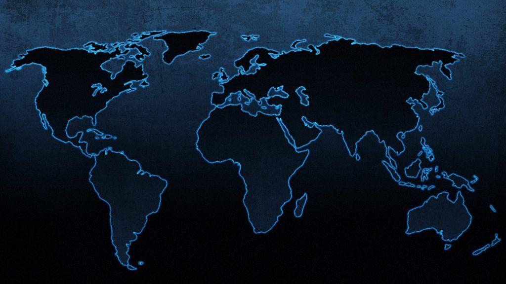 World Map Desktop Picture New World Map Black Background Walldevil Inspirationa World Map Desktop Wa D Peta Dunia Latar Belakang Peta