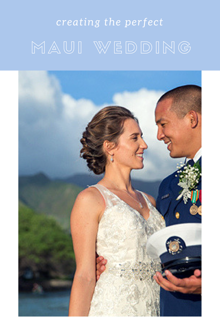 maui wedding hairstyles and make-up for your perfect day