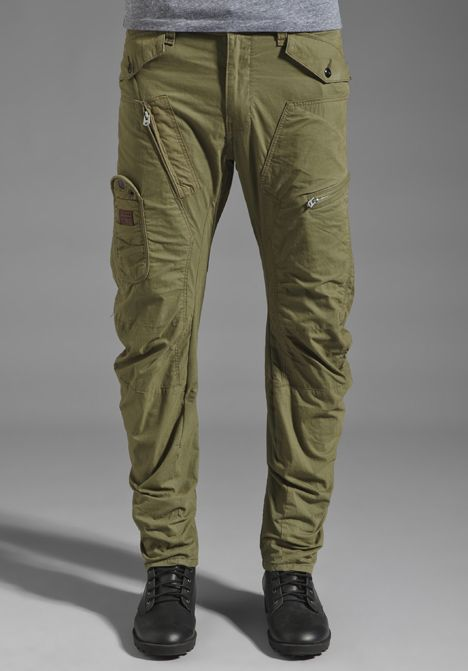 0feca5a979ee G-STAR Aero Powel 3D Loose Tapered Pant in Sage at Revolve Clothing - Free  Shipping!
