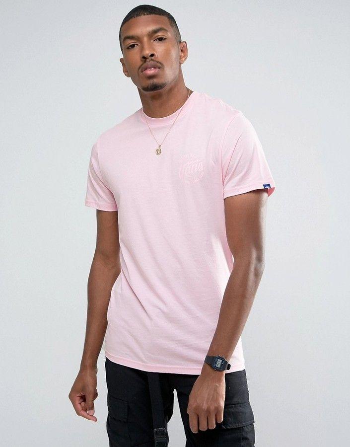 Vans Classic Logo T-Shirt In Pink VA394VJ8Z