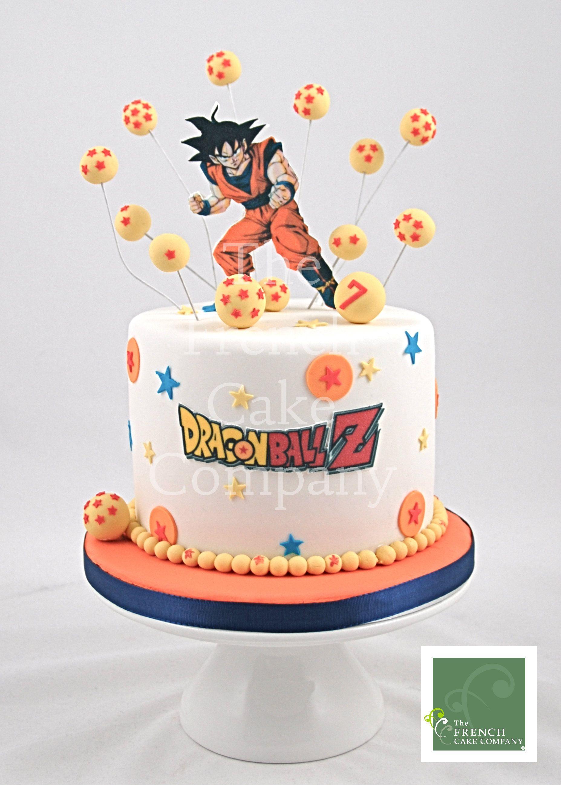 Childrens birthday cake dragonball z gateau duanniversaire pour