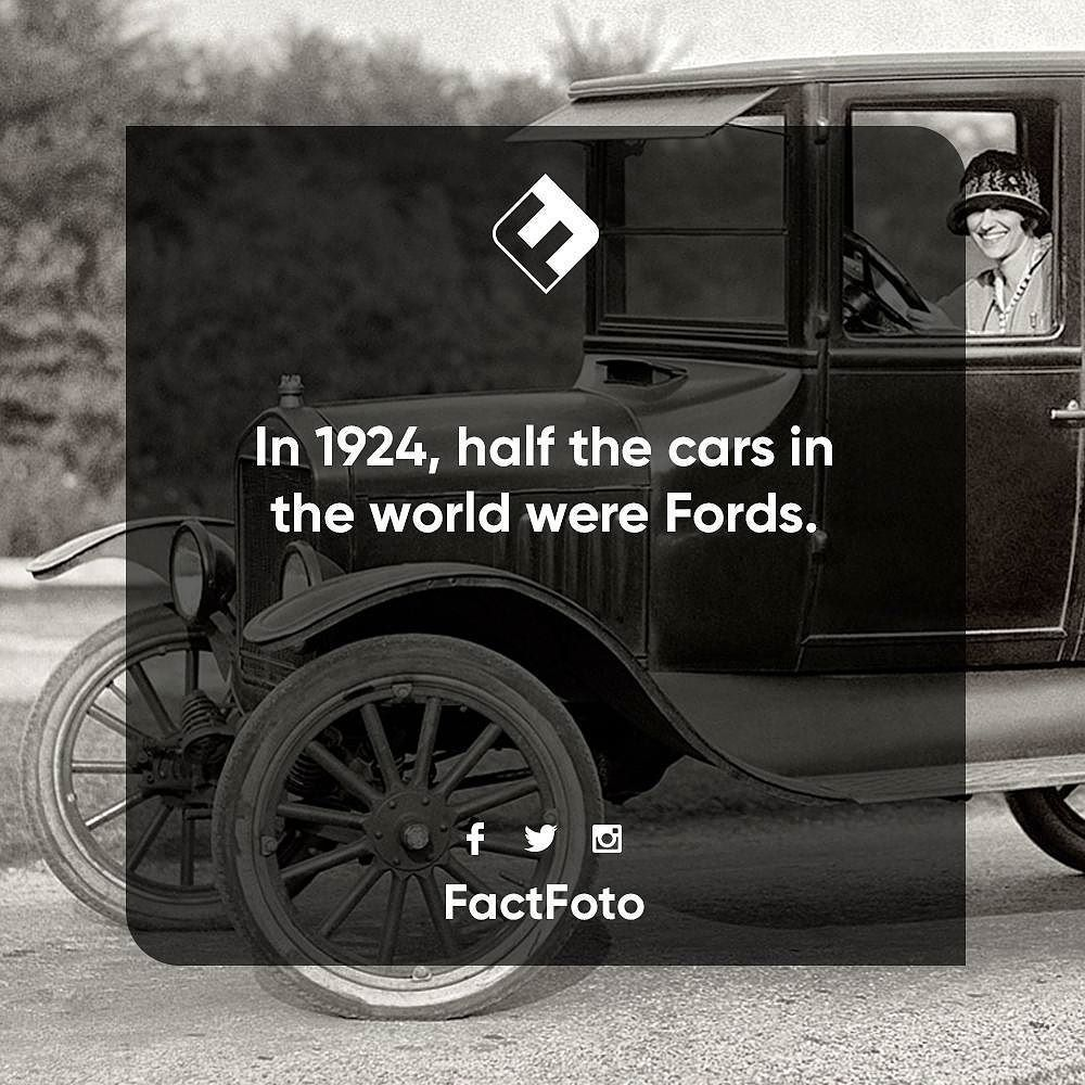 Factfoto Fact Facts Ford Cars History