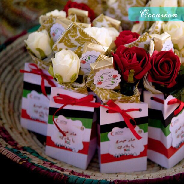 Uae National Day Favor Bags توزيعات اليوم الوطني Uae National Day National Day Travel And Tourism