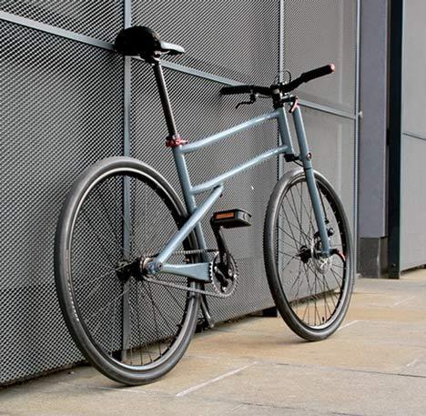 """Folder : roues de 26"""" mais vélo pliant !"""