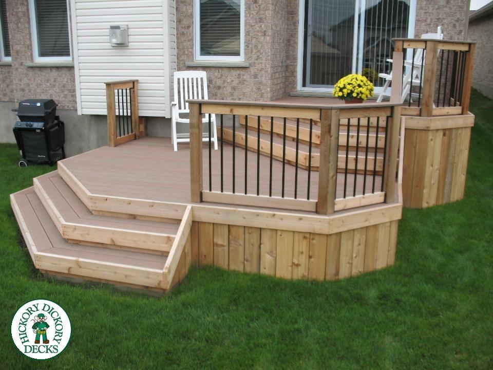 Hickory Dickory Decks Diy Deck Deck Plans Diy Decks Backyard