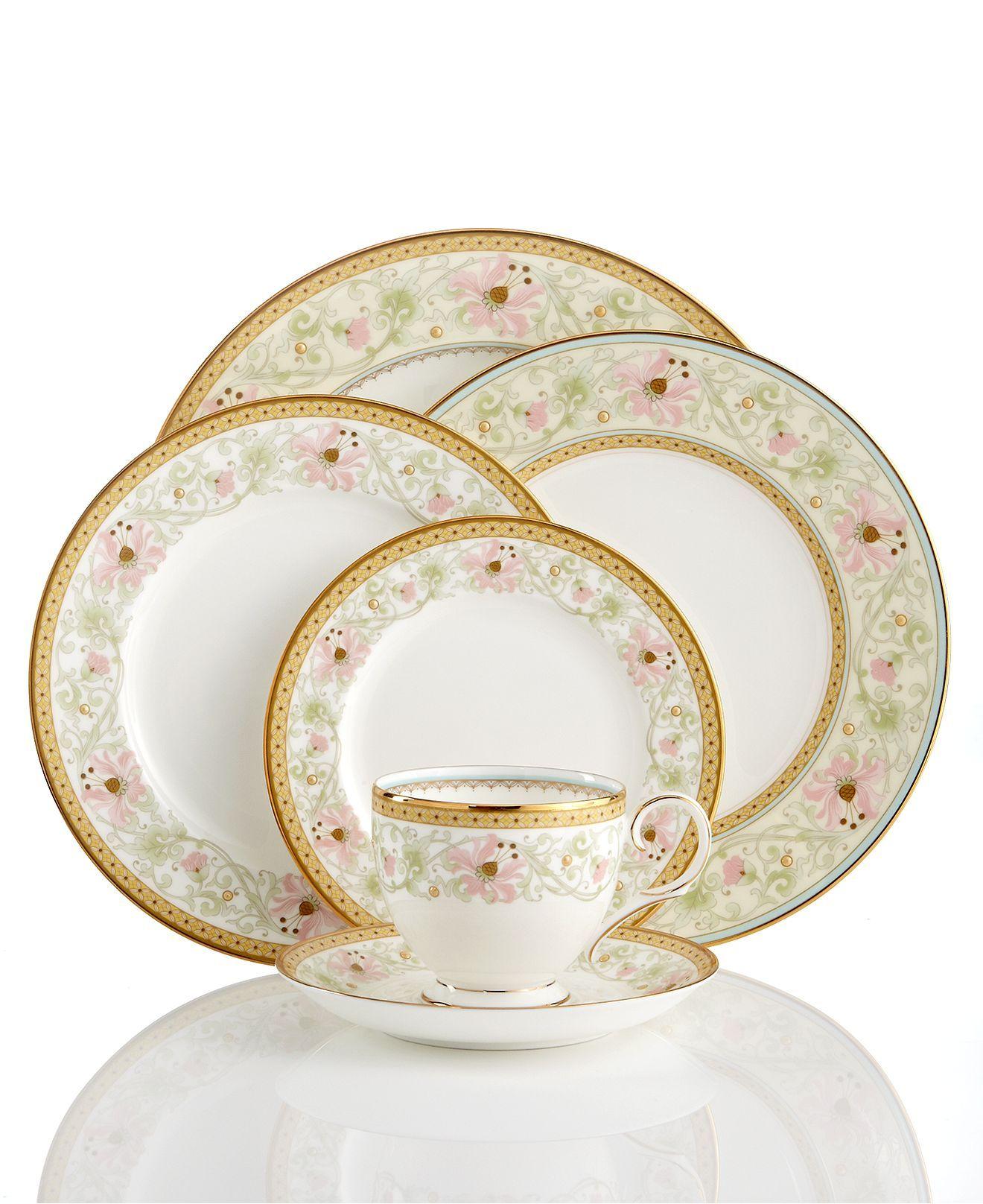 Noritake Dinnerware Blooming Splendor Collection - Fine China - Macy\u0027s  sc 1 st  Pinterest & Noritake Dinnerware Blooming Splendor Collection - Fine China ...