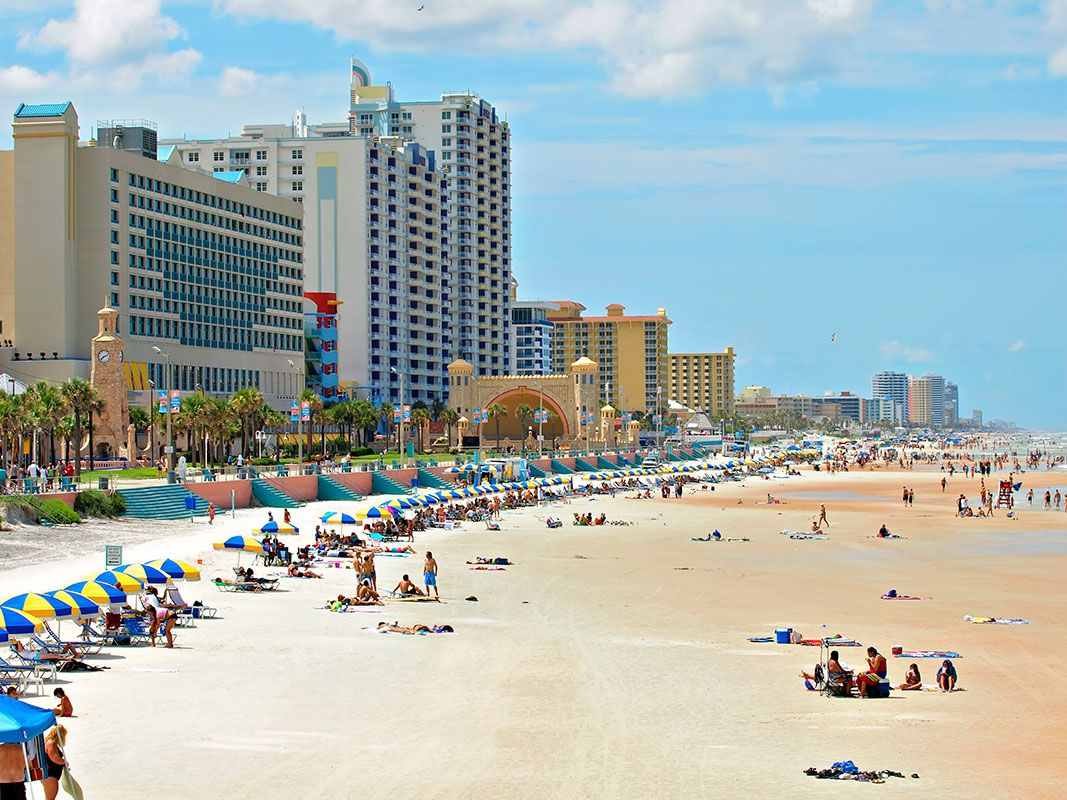 Traveling To Daytona Beach Hotels In Is World Famous For Spring Break