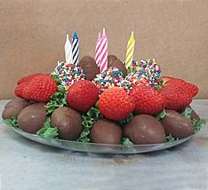 Choco Berry Birthday Cake 1 800 Flowers