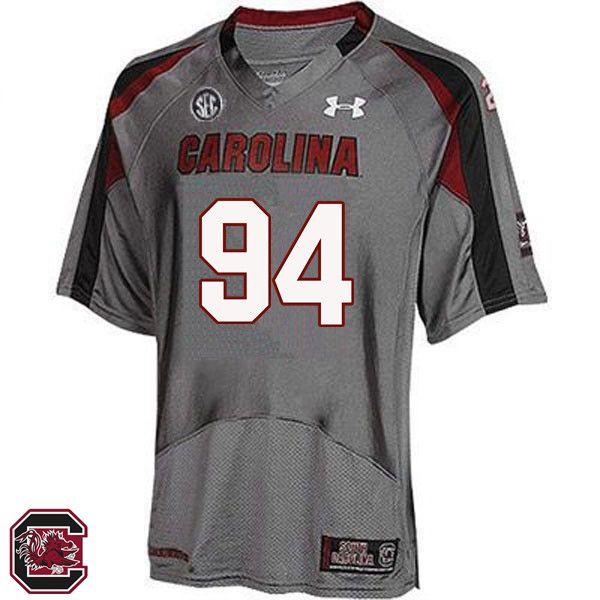 new products 5744a 25cda Men South Carolina Gamecocks #94 M.J. Webb College Football ...