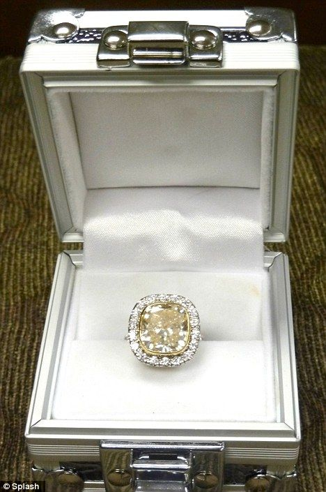 On the auction block Taylor Armstrongs 250k engagement ring from