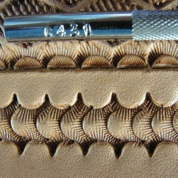 C431 Camouflage Leathercraft Tool