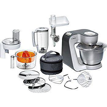 Amazonde Bosch MUM56340 Küchenmaschine Styline MUM5 (900 Watt - kochen mit küchenmaschine