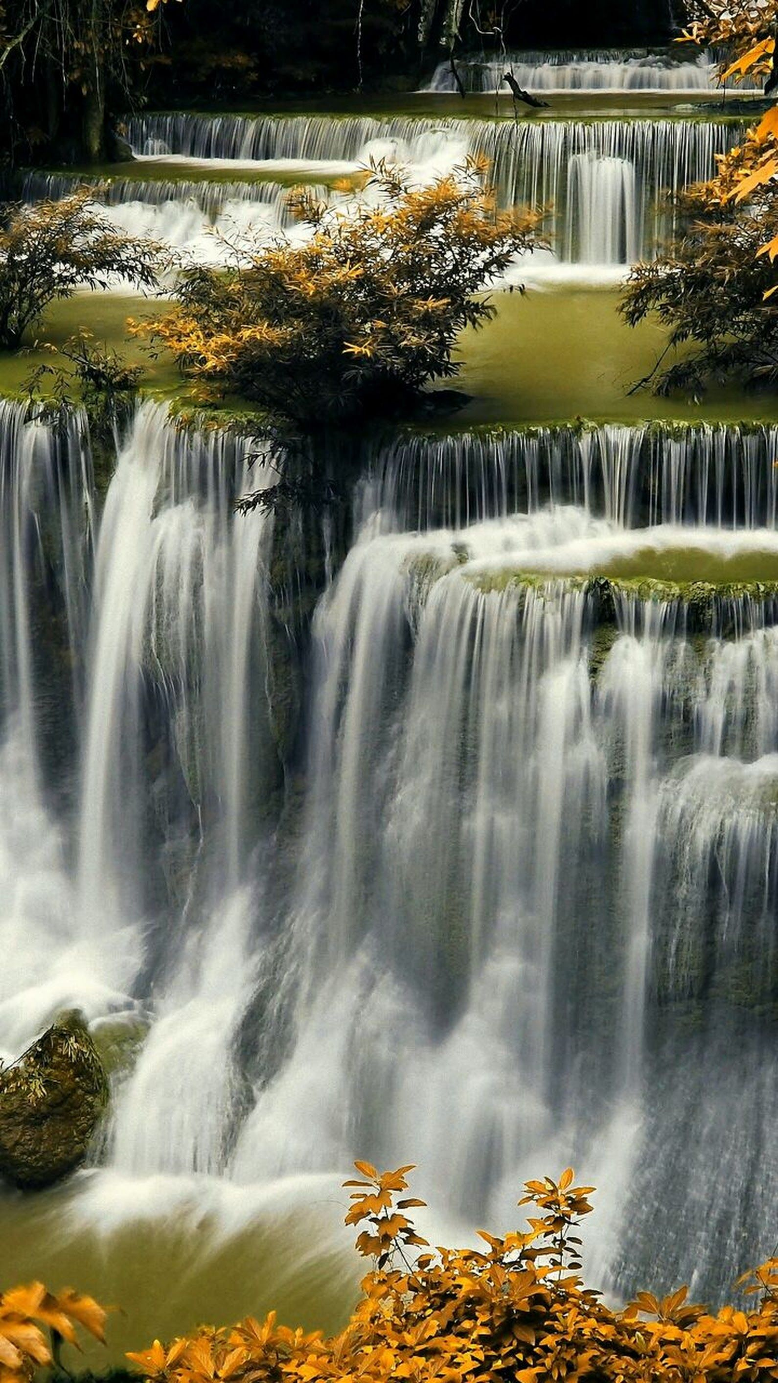 Awesome Waterfall Must Be Stunning To See This In Real Life Karen A Google Nature Waterfall Beautiful Waterfalls
