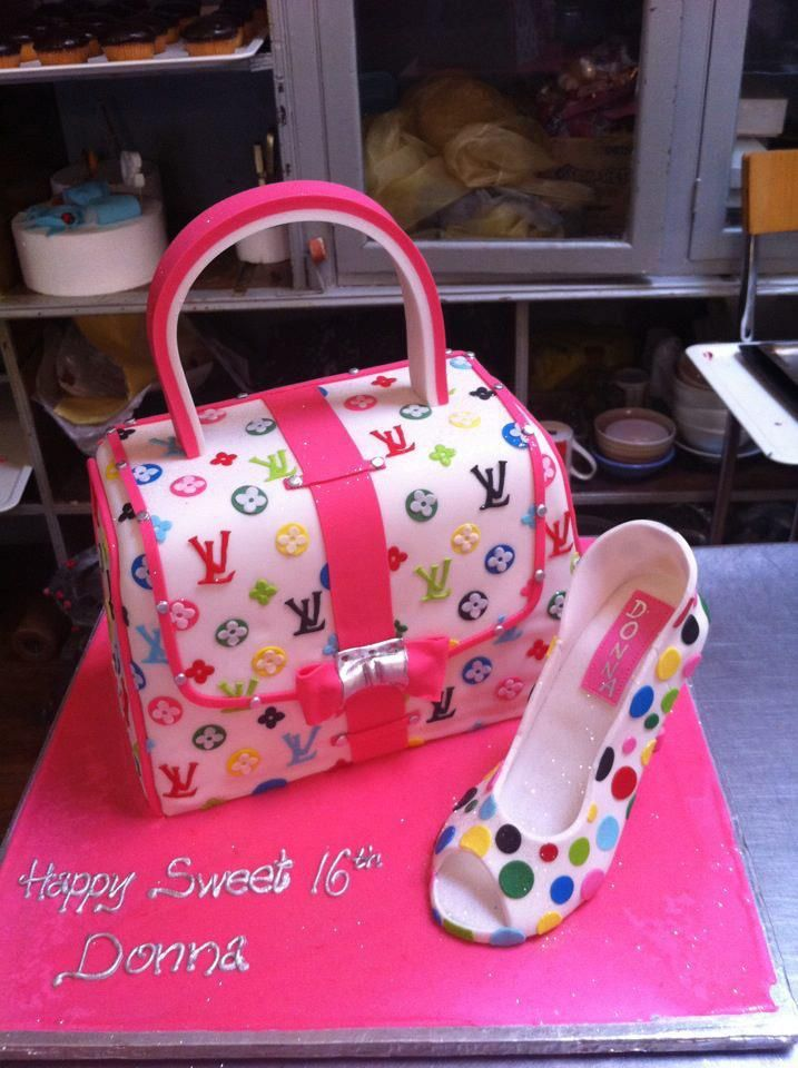 Cute Birthday cake teenage girl Charlys Bakery Shoe Cakes
