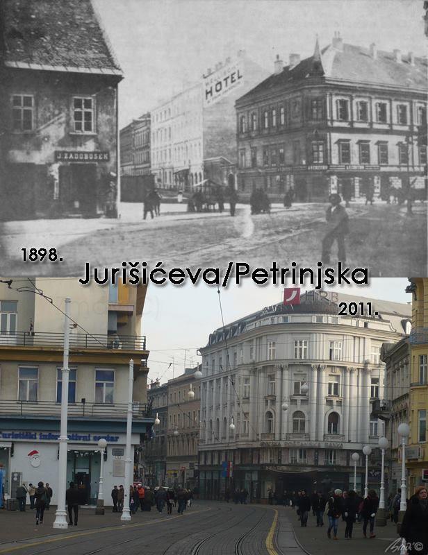 Usporedba Zagreba Nekada I Danas Zagrebfacts Zagreb Zg Agram Starizagreb Zagreb Croatia Croatian