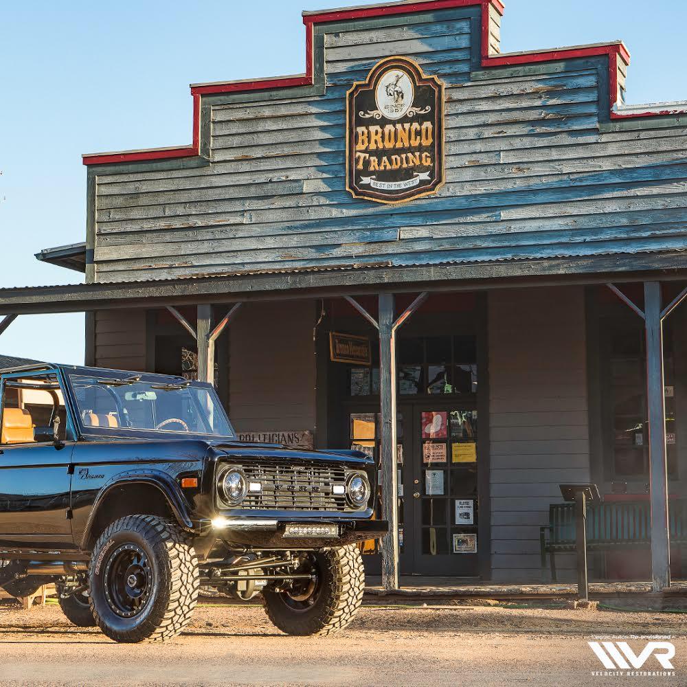 Velocity Restorations Classic Ford Broncos Classic Bronco Ford Bronco