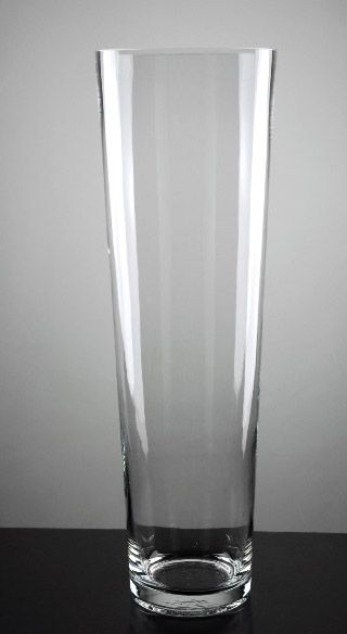 Tall Vases Tall Clear Glass Flower Vase LD China Tall - Clear floor vase with flowers