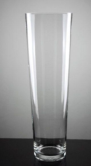 Hot Item Tall Clear Glass Flower Vase Ld10031 Glass Flower
