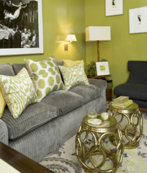 Living Room Ideas Olive Green a colourful life: green scene - part 2 - green decor fashion
