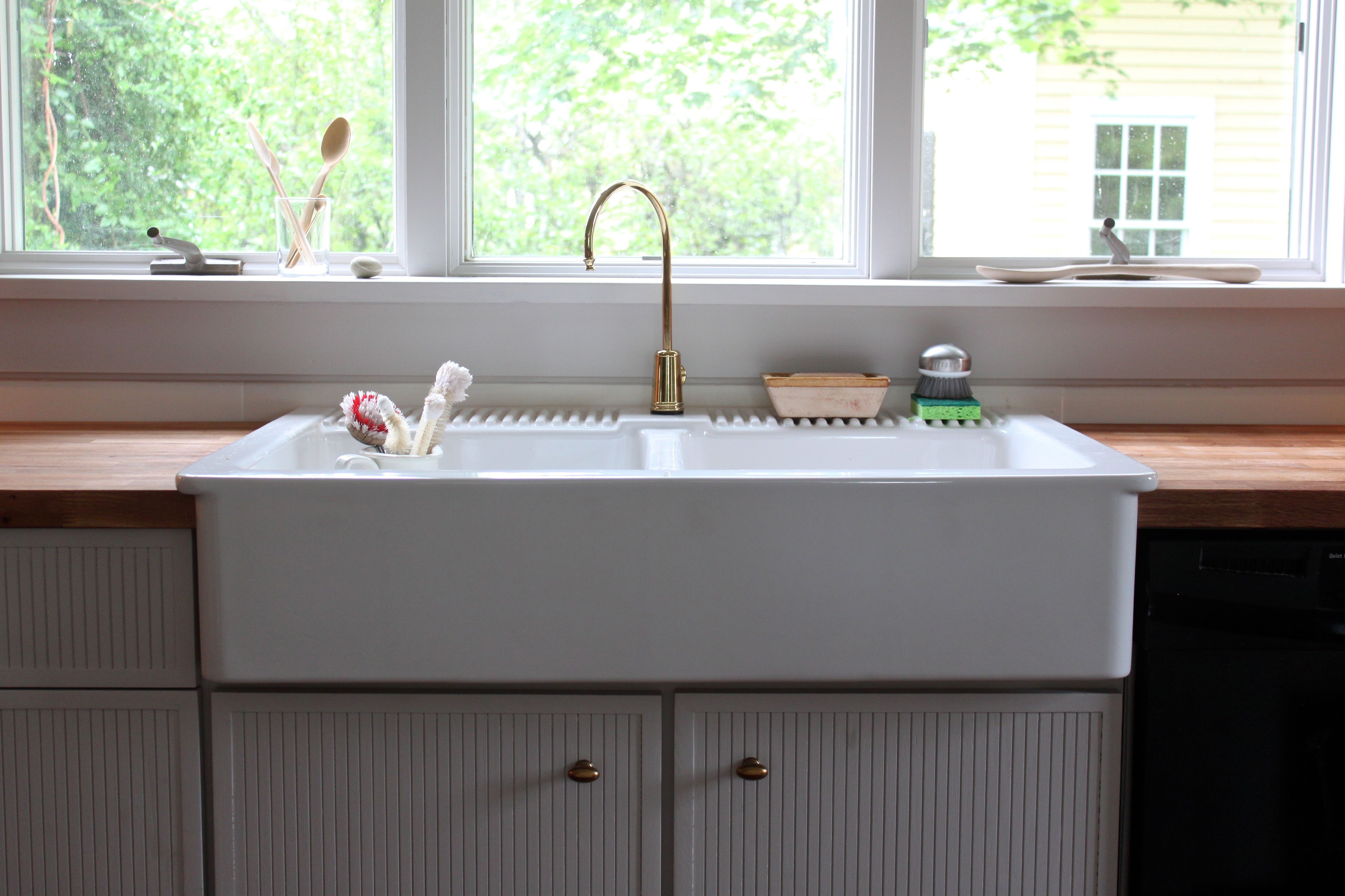 With soapstone counters and a different faucet... With