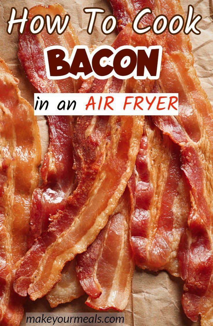 Air Fryer Bacon #airfryerrecipes