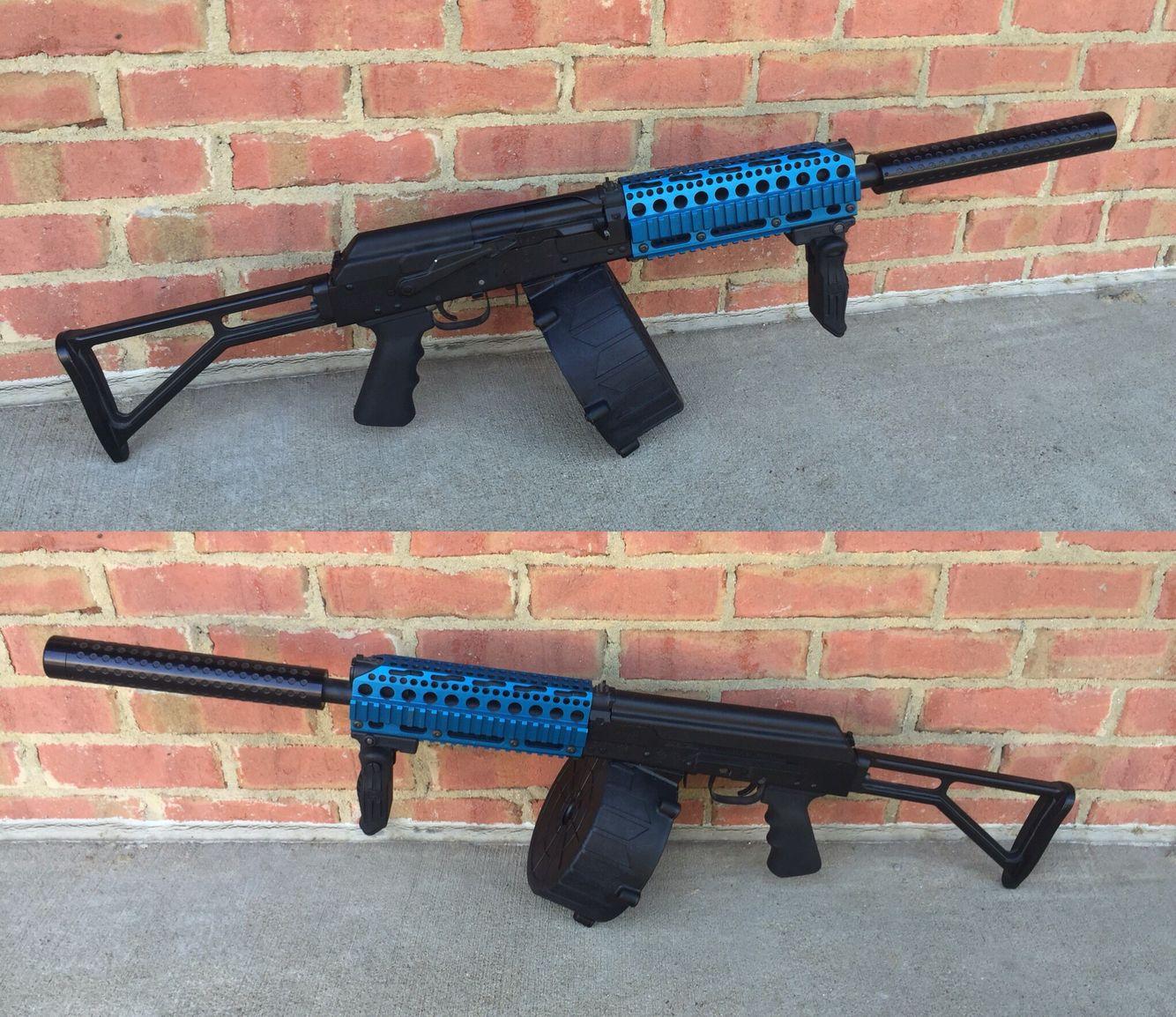 KS-23M shotgun, PSS pistol, SVU-A sniper rifle | Kool Tac Stuph ...
