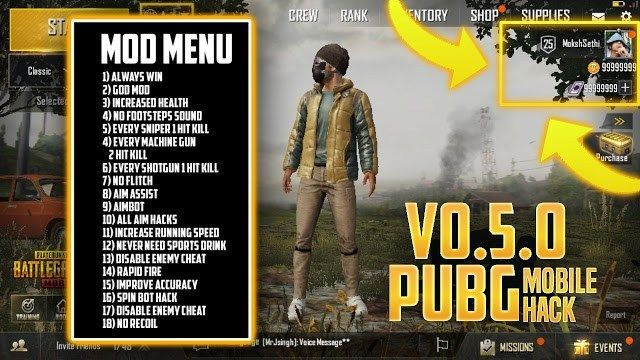 Know About Pubg Mobile Hacks Tips Aimbot Wallhack Cheat Codes Speed Hack Bp Hack Pubg Mobile Hack Android No Root Game Cheats Cheating Android Game Apps