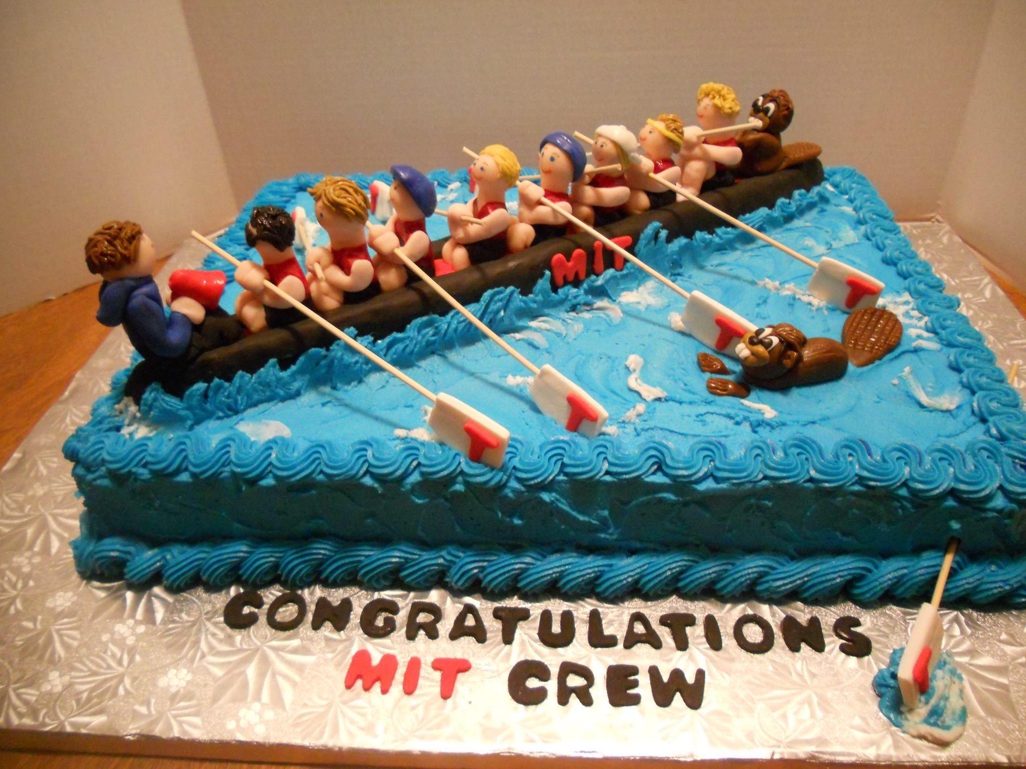 Mit Crew Cake W Row Row Your Boat